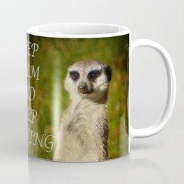 I am a model - a meerkat Coffee Mug