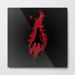 Born in Blood - Bloodborne Metal Print