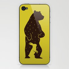 Kuma to Usagi iPhone & iPod Skin