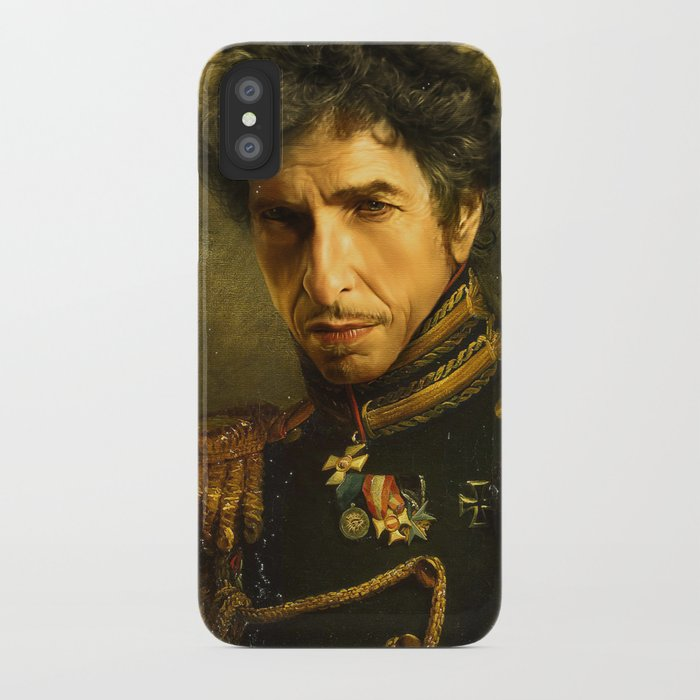 Bob Dylan - replaceface iPhone Case
