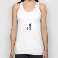 fallout Tank Tops featuring 8-bit Fallout by MrHellstorm