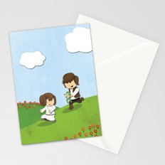 SW Kids - Han Chasing Leia Stationery Cards