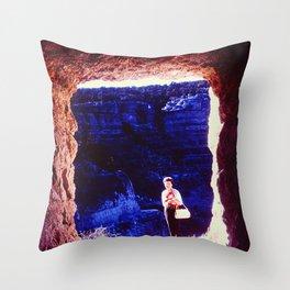 Cave Frame Throw Pillow