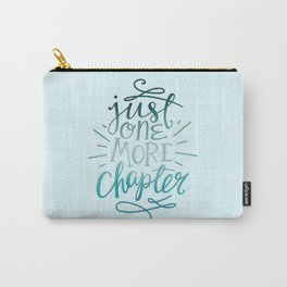 Book Worm One More Chapter Carry-All Pouch