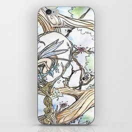 Birth of a Fairy iPhone Skin