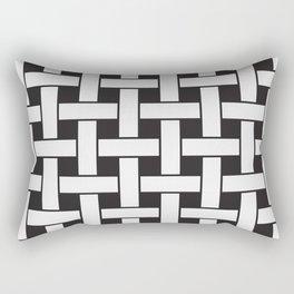 Plane Weave Seamless Pattern. Rectangular Pillow