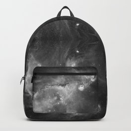 Black-and-White Fantasy Space Galaxy 10 Backpack