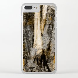 Father's Coat Clear iPhone Case