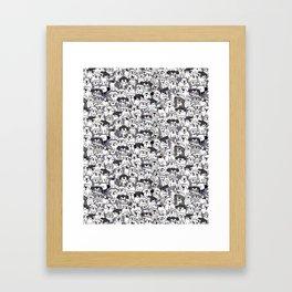 Original Sheepdogs On Watch Framed Art Print