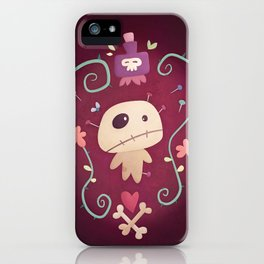 Voodoo Doll iPhone Case
