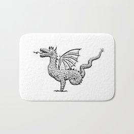 Dragon (pencil) Bath Mat