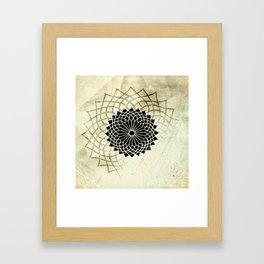 Circle String Framed Art Print