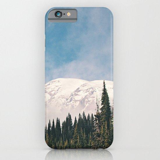 Mount Rainier in the Winter iPhone & iPod Case