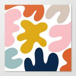 Blob Collage - Multi Canvas Print