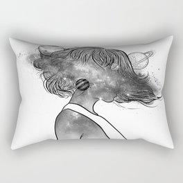 Into the universe. Rectangular Pillow