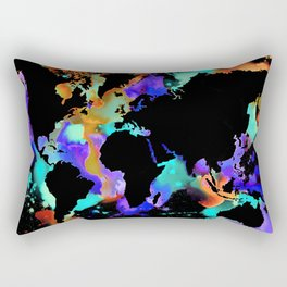 Globe trotter Rectangular Pillow