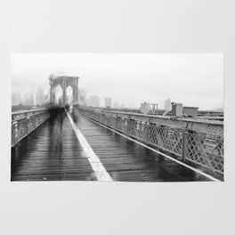 Brooklyn Bridge and Rain Rug