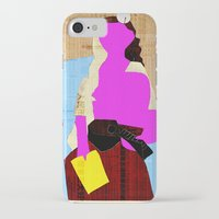 picasso iPhone & iPod Cases featuring Picasso Woman by Marko Köppe