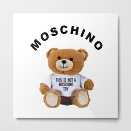 Toy Moschino 2 Metal Print