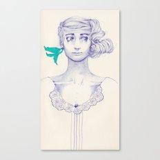Flowery 03 Canvas Print