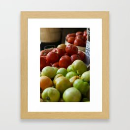 B(u)y the Bushel Framed Art Print