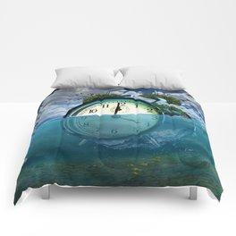 Floating Clock Comforters