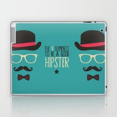 Elements to be a good hipster Laptop & iPad Skin