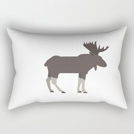 Elk Poster for children. Animals. Poster with animals. Rectangular Pillow