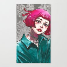Inktober DAY 4 Canvas Print