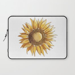 Sunflower art Laptop Sleeve