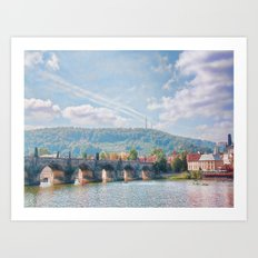 River View Art Print