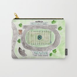 North Oldham High School Field, Kentucky, Mustangs Carry-All Pouch