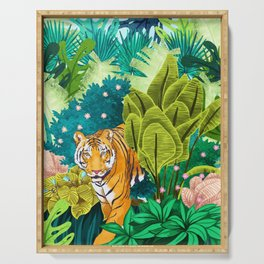 Jungle Tiger Serving Tray