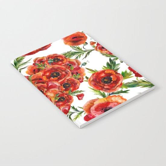 Poppy Heart pattern by originalaufnahme