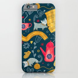 Pattern #71 - Hygge - Cosy winter iPhone Case