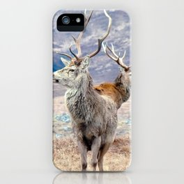 Stags iPhone Case