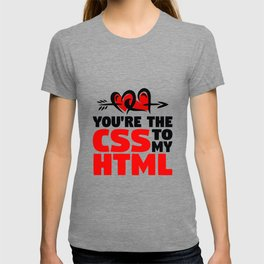 CSS and HTML T-shirt