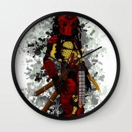 Big Red Predator Wall Clock