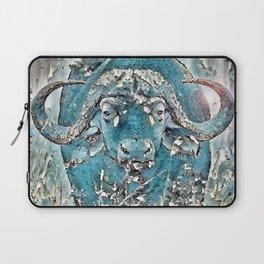 Turquoise Buffalo Laptop Sleeve
