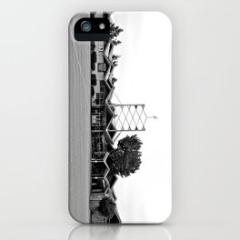 Classic American bowling alley iPhone Case