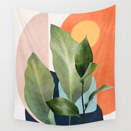 Nature Geometry VII Wall Tapestry