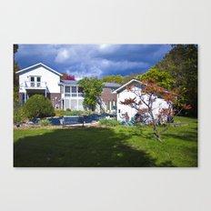 Lake Side Drive Canvas Print