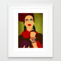 brasil Framed Art Prints featuring Brasil by frtortora