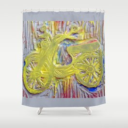 Cubby Styling Shower Curtain