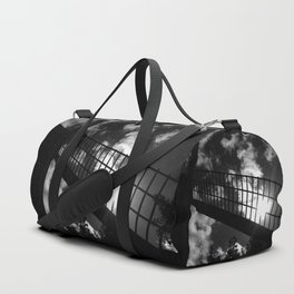 shot on iphone .. windmill silhouette Duffle Bag