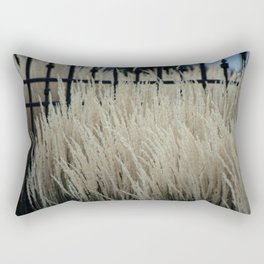 Pampas Grass and Iron Rectangular Pillow
