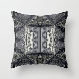 A Glass of Black Strap Rum Throw Pillow