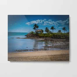 Airlie Beach Gazebo Metal Print