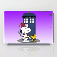 snoopy iPad Cases featuring Snoopy Who by plasticdoughnut
