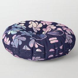 Afro Diva Mauve Teal Galaxy Floor Pillow